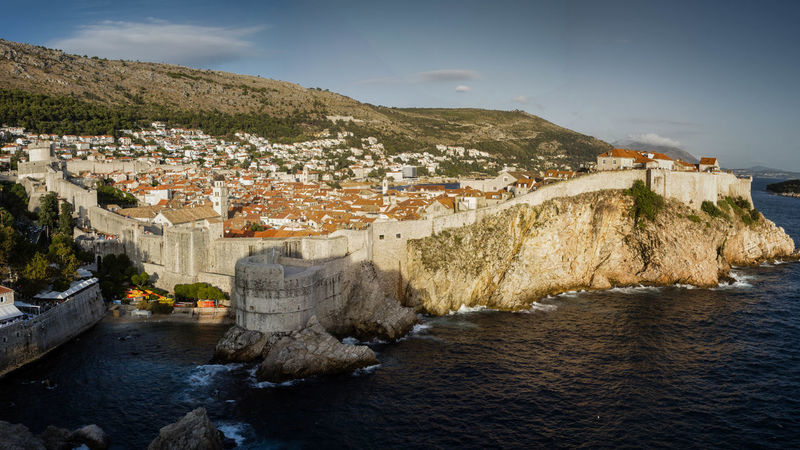 #croatia #dubrovnik Architecture Built Structure Nature No People Outdoors Water