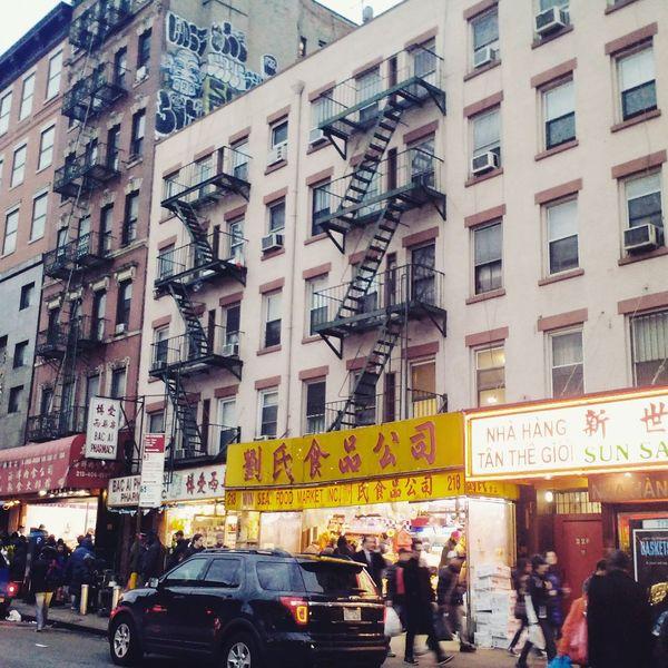 Chinatown2 New York Chinatown City Street United States