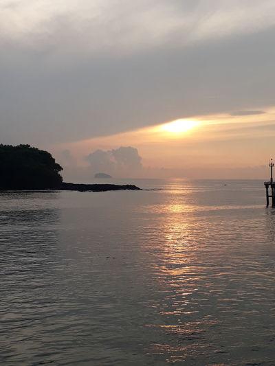 padang bai beach Sunset Beach Beauty In Nature Tourism