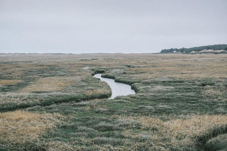 Rural Landscape Against Sky