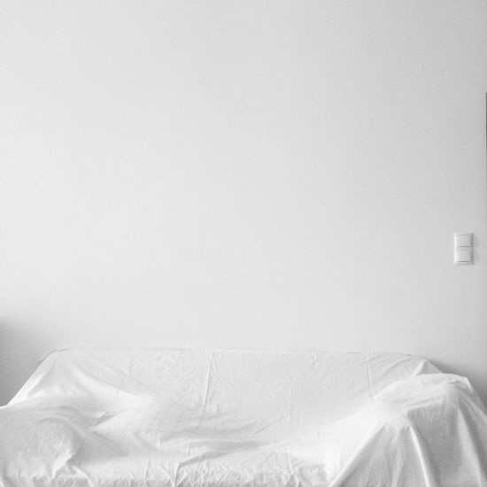 nothing's left Bed Bedroom Close-up Crumpled Day Emptiness Empty Indoors  No People Sheet Under Cover White White Background White Color Sofa Wall Simplicity Black And White Shades Of White Furnitures Minimalism