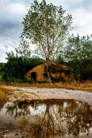 Architecture Building Exterior Built Structure Calm Cloud Cloud - Sky Day Italy Lost Places Lostplaces Nature Non-urban Scene Outdoors Reflection Riverbank Scenics Sky Stream Tirrenia Toscana Tranquil Scene Tranquility Tree Water Waterfront