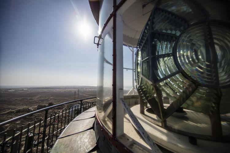 Light house fire lens