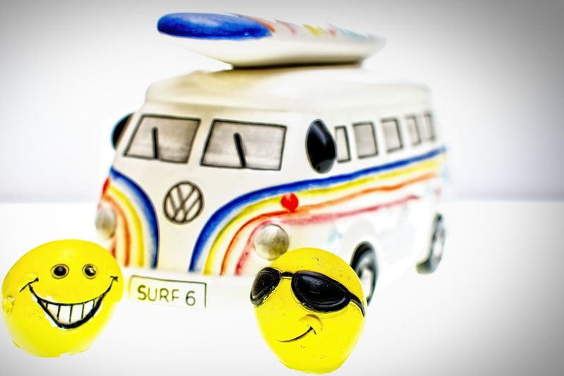 sun shine smilley Still Life Photography Toys Childhood Classic Minibus Close-up Day Funny Faces Indoors  Model No People Smiles Smilys Still Life Sunglasses Surffing Crowd Cool Mr Cool