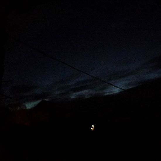 Sky Nature Night No People Beauty In Nature Scenics Low Angle View Astronomy Outdoors Silhouette