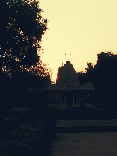Sun Set Behind Temple First Eyeem Photo