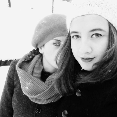 Snow ❄ Winter That's Me Cousin Faces Of EyeEm Taking Photos Enjoying Life