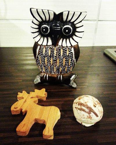 Debrecen Mihálynapivásár Vásárfia Sunday Sunshine Weekend Owl Reindeer Fridgemagnet Chocolate
