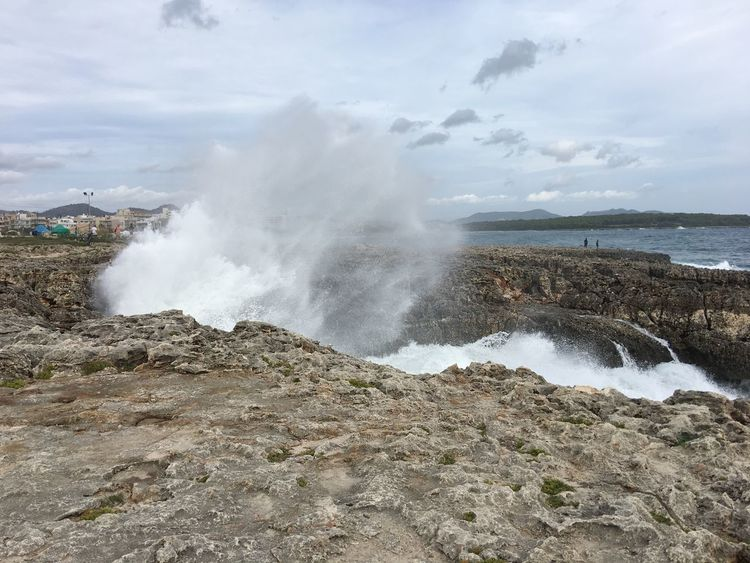 Wave Water Motion Sea Power In Nature Rock - Object Wellen Mallorca Mediterranean Sea