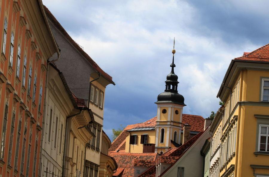 Architecture Austria Building Exterior Built Structure Church City Day Graz No People Outdoors Religion Steiermark Summer 2016