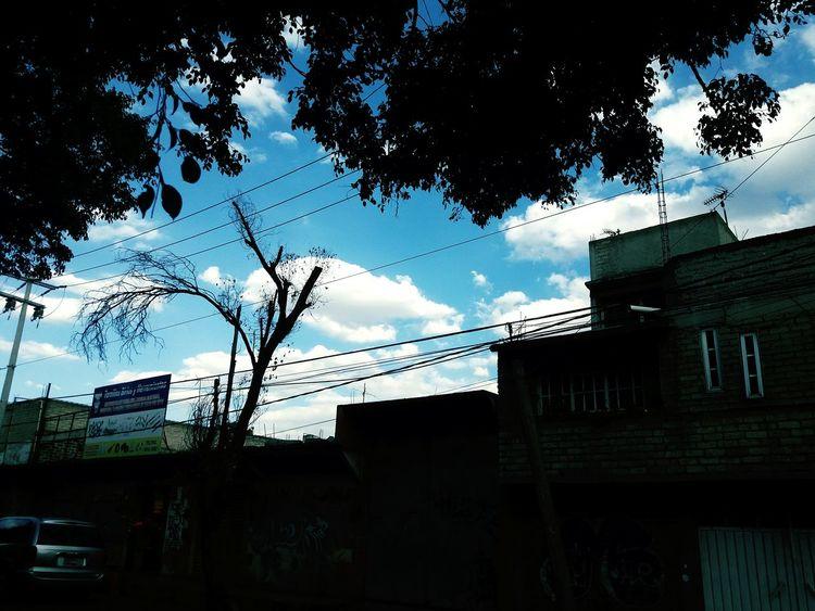 Cielo mexicano en Lunes de Diciembre