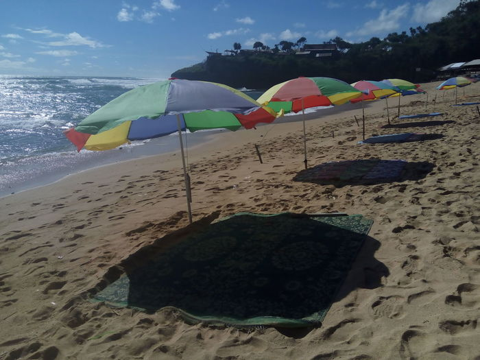 Beach Sand Multi Colored Day Outdoors Sky Water Vacations No People Nature INDONESIA