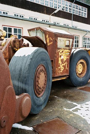 Wheelloader at