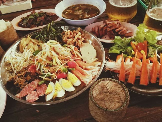 Food Food And Drink Healthy Eating Freshness No People Plate Indoors  Ready-to-eat Seafood Close-up Day เบียร์ ตำถาด