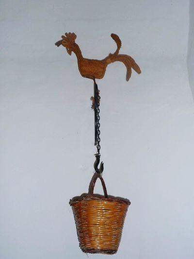 Decorative Rooster Handicraft Tipical Mediterranean