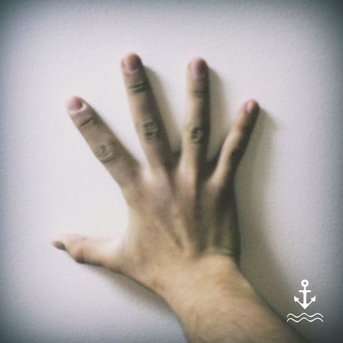 Your Fingers don't same .. All don't same ..
