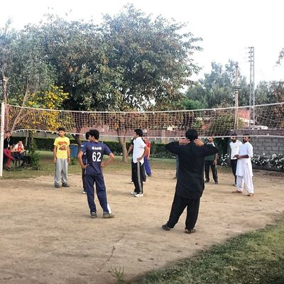 Volleyball Sports Comsats Comsatsatk Attock punjab youth students games