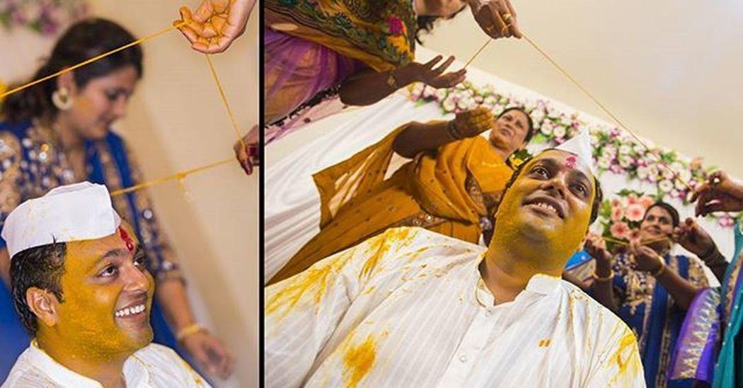 Jbclickz Happygroom Haldi Rituals Indiantradition