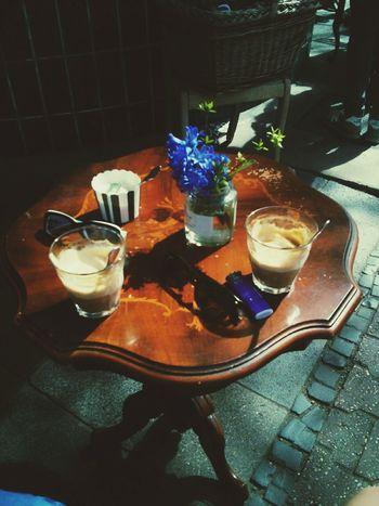 ♡ Oldfashioned Summer Vibes Coffee Break Outdoor Photography Enjoying Life RetroLove Nostalgic Place @Fein_Frankfurt