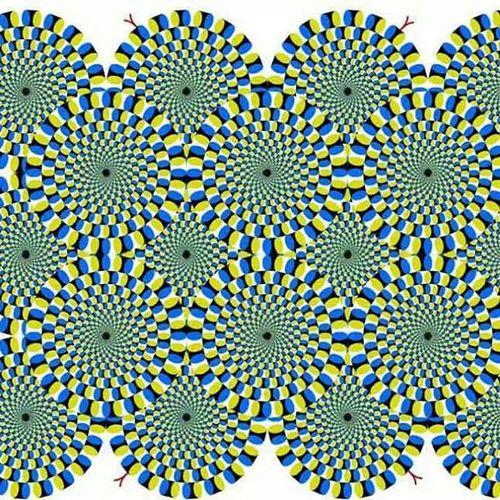 Trippy because its not a Videoclip .... Opticalillusion