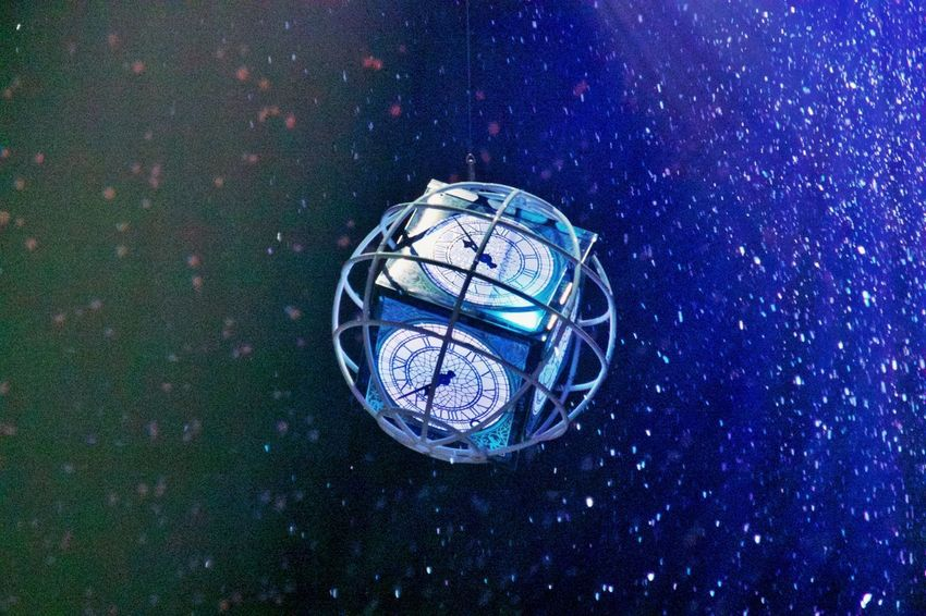 No People Time Clock Space Night Planet - Space Sphere High Angle View Single Object Star - Space Astronomy Exploration