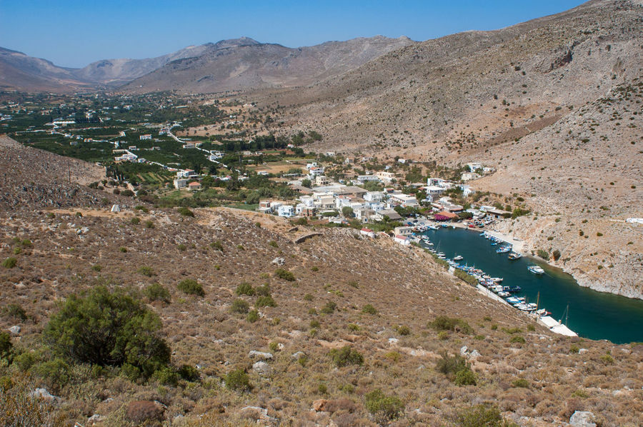 Vathi oasis Greek Islands Kalymnos Agriculture Greece Island Landscape Mountain Nature No People Oasis Outdoors Rural Scene Scenics Vathi