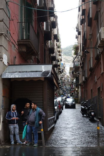 Napoli Naples Side Street Via Toledo