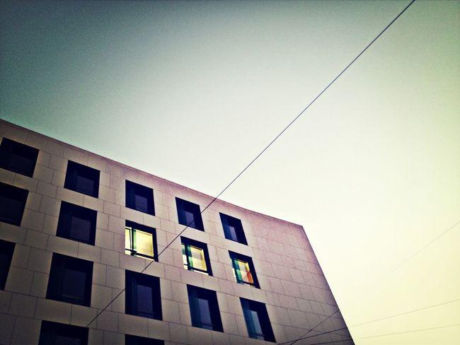 Always leave some Windows open. Buildings Concrete