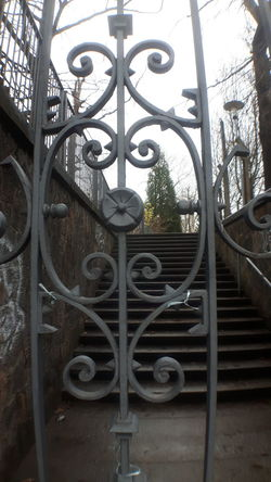 Close-up Day Gate Metal No People Outdoors Railing Wrought Iron