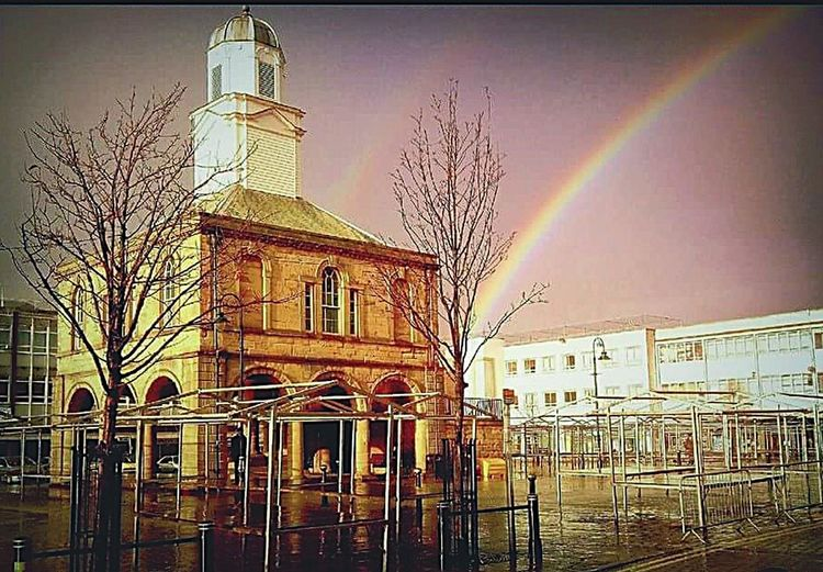 South Shields Old Town Hall Building Historical Building South Shields Market Place My Home Town Double Rainbow