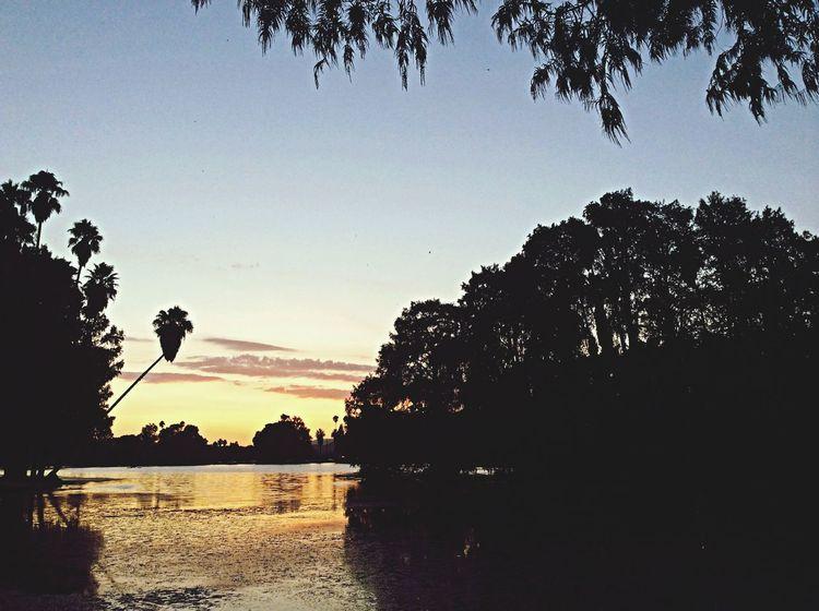 Fairmountpark Beautiful Sunset with Water Reflections ! Enjoying Life