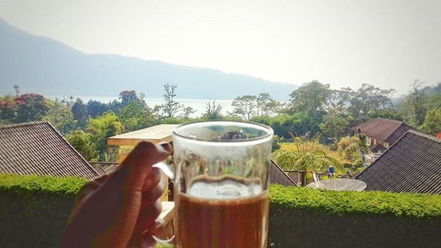 Life begins at a cup of coffee Coffee Bedugul Bali INDONESIA