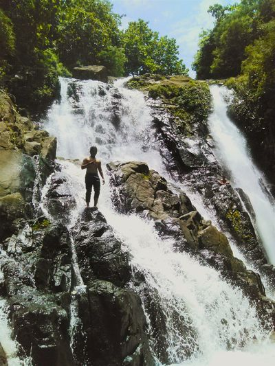This is INDONESIA Relaxing That's Me Check This Out Enjoying Life Hello World Wonderful Indonesia Travelling Waterfall Gedangsari