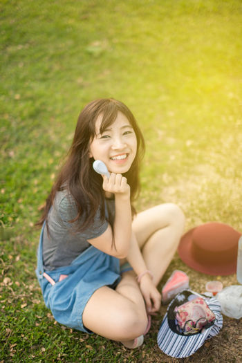 Asia Woman Asian  Beautiful Girl Beautiful Woman Cake Cake Time Cute Eat Cake Freedom Freedoom  Happiness Happy Life Style Lifestyles Park Portrait Protrait Protrait Of A Women Relax Relax Time  Relaxation Relaxing Smile Smiling Young Woman