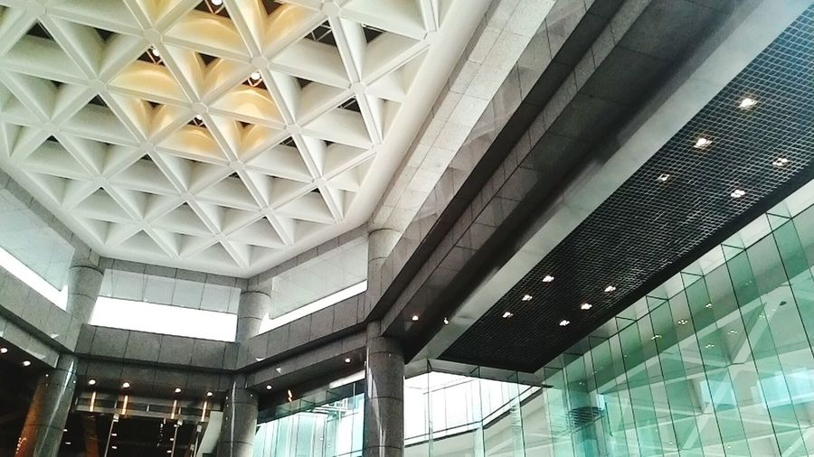 Repetition Ceiling Building Exximbank Jakarta Indonesia First Eyeem Photo