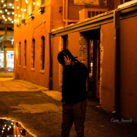 Alleyway Reflection Reflections In The Water Nightlight Fall Nikon Nightphotography D5600 Music Built Structure Architecture Building Exterior Real People One Person Night Standing Men City Lifestyles Technology Photographing Street Leisure Activity Illuminated Building Outdoors