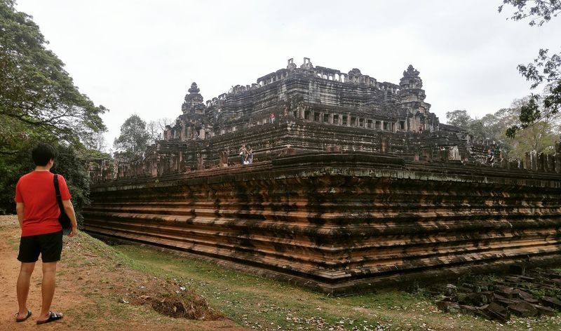 Cambodia Angkorthom Siem Reap Baphuon Temple Traveler