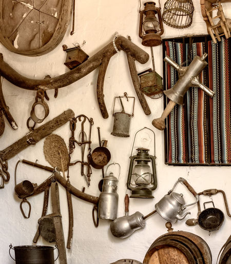 Old tools and