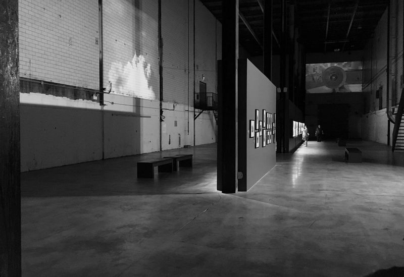 Gallery Darkness And Light Dark Exhibition Toronto Pressroom Photography Large Room Viewing View Blackandwhite Canada EyeEm Selects