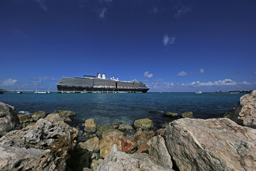 Caribbean Sea Cruise Ship Harbour Holiday Marina Ocho Rios Jamaica Ocho Rios Tropics