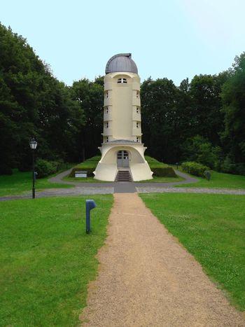 No People Tree Architecture Built Structure Outdoors Sky Day Albert Einstein Tower Albert Einstein Potsdam Brandenburg Germany Architecture Summer Blue Sky