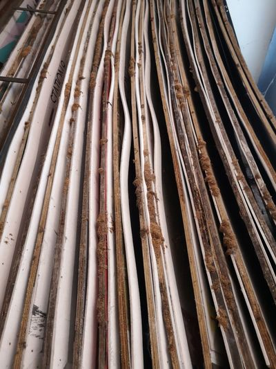 Factory Industry Backgrounds Full Frame Stack Freight Transportation Pattern Close-up