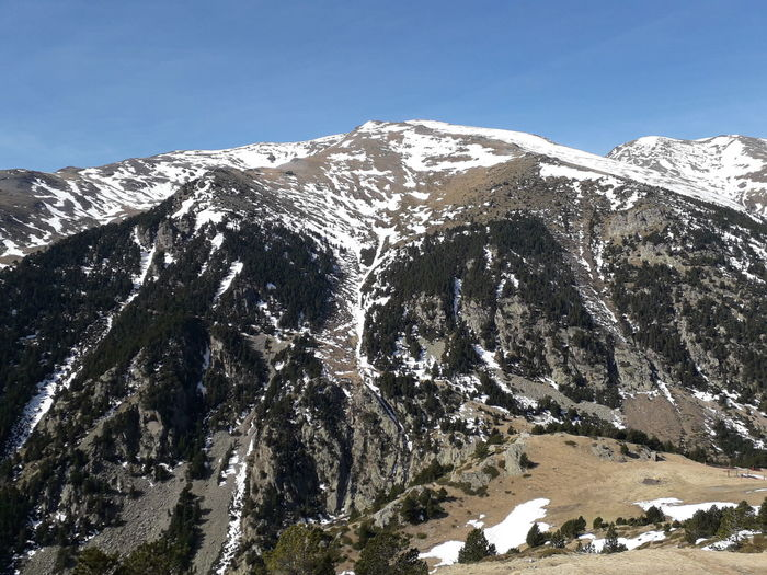 Mountains Snow Vall De Núria Girona Catalonia Catalunya Tree Cold Temperature Clear Sky Winter Snowcapped Mountain Pine Tree Pinaceae Sky Geology