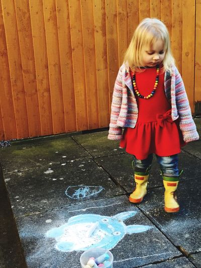 Toddlerlife PavementArt Patio Art Chalk Art Toddler Fun Spring Fun Yellow Wellies Studio Ghibli Totoro My Neighbour Totoro Studioghibli