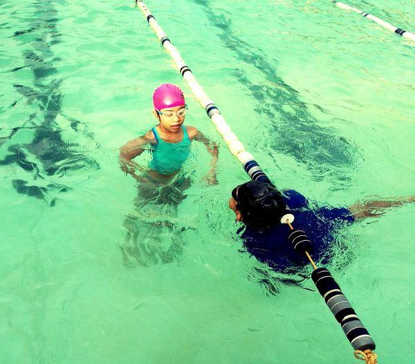 Most kids enjoy swimming. Miloswimmingprogram First Eyeem Photo