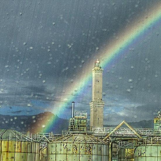 Genova Lanterna Di Genova Rainbow