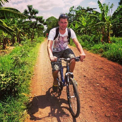 Bycicle Africa Tanzania Bananaplantage