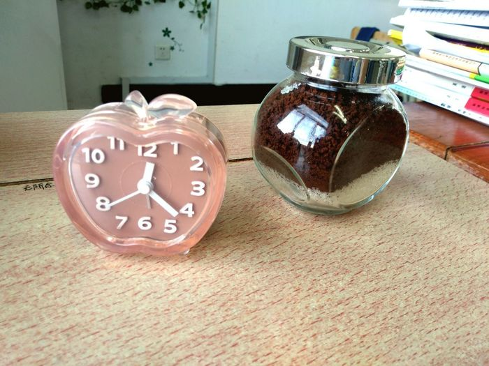 Coffee Suger Clock My Life ❤