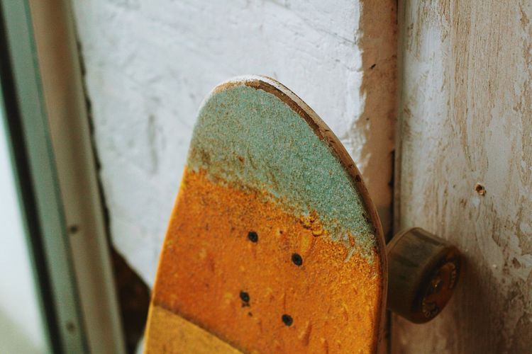 Skateboard Skateboard Skateboard Park Skateboarding Rusty Close-up No People Old Still Life Metal Indoors  Damaged Wood - Material Equipment Obsolete Wall - Building Feature Day Weathered Textured  Abandoned Run-down Focus On Foreground Art And Craft Skate Photography: Same Tricks, New Perspectives