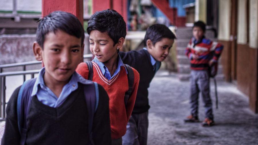 Indian village school